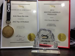 Master Emerald Award